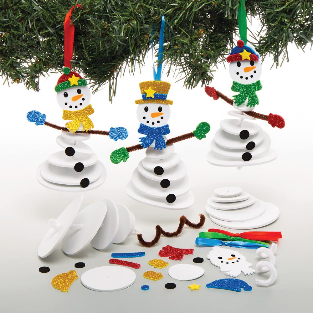 Snowman Stacking...