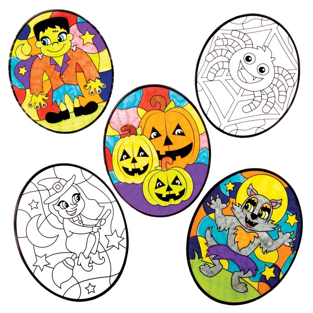 Halloween Colour-in...