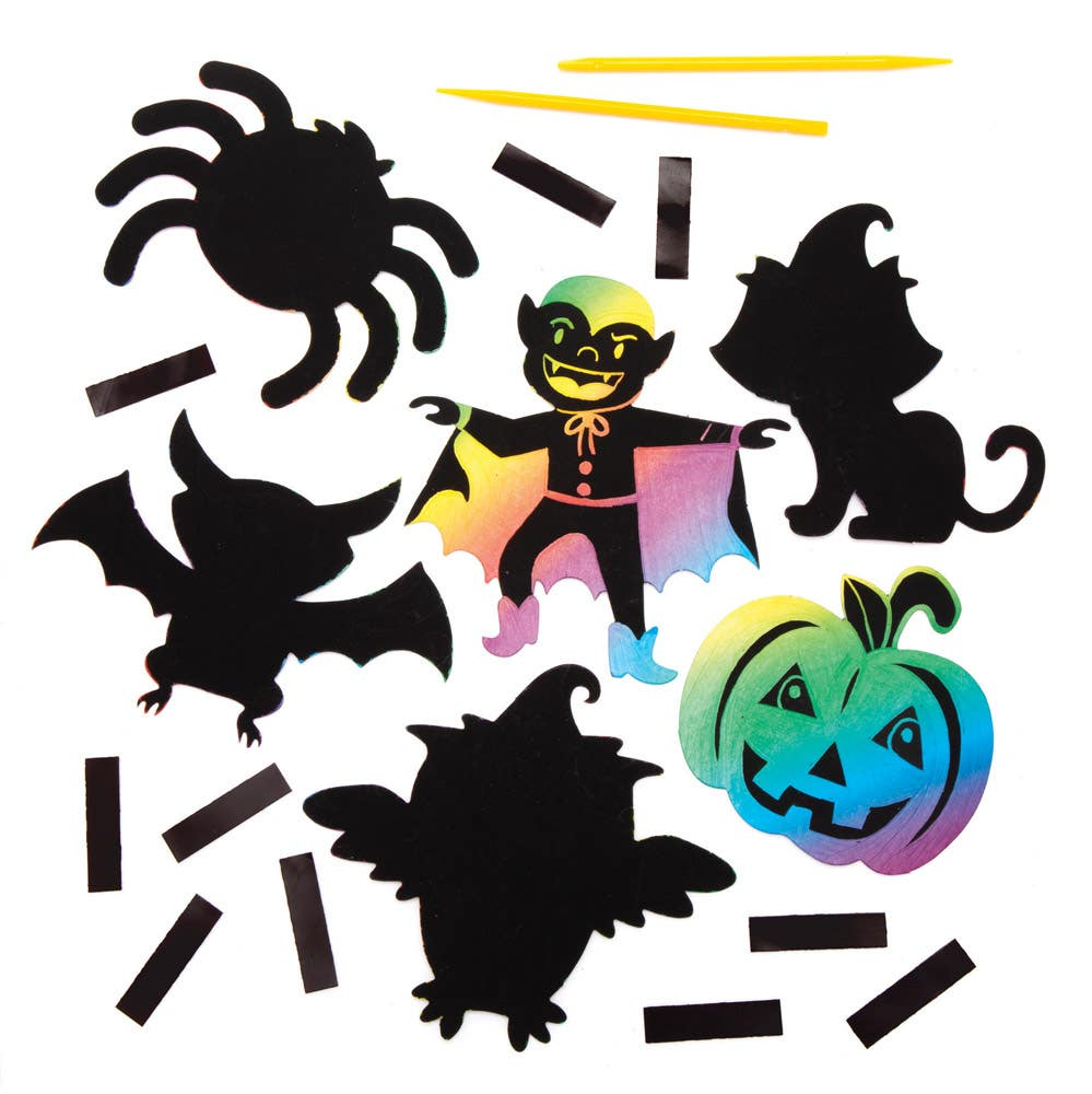 Halloween Scratch...